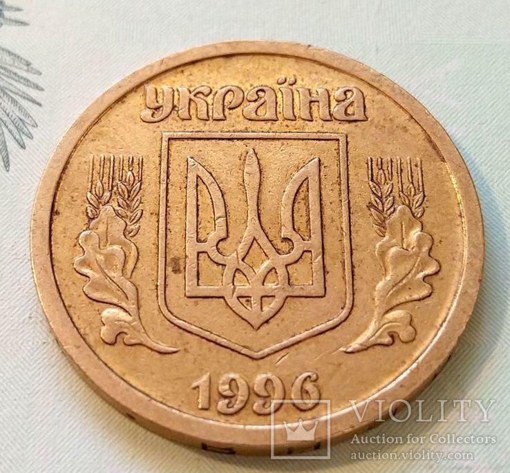 Украина 1 гривна 1996 год., фото №2