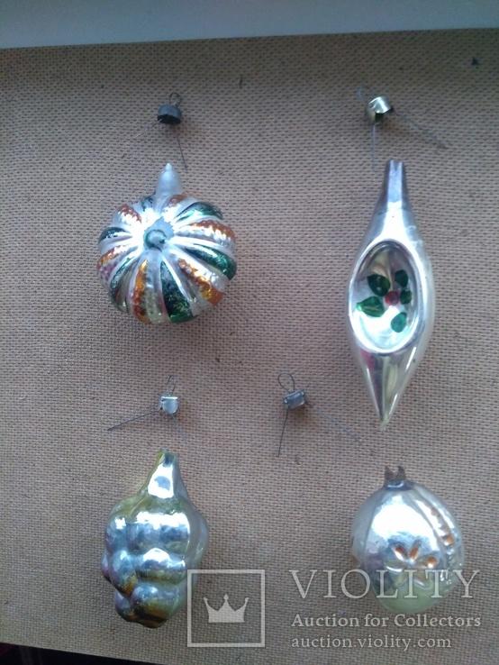 4шт. ёлочные игрушки СССР, фото №8
