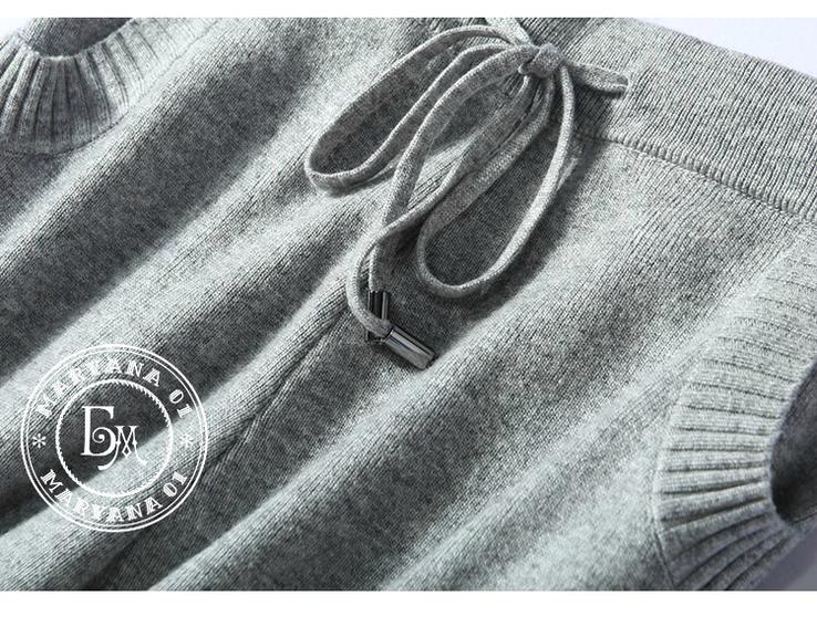 Кашемировый костюм серый размер S/M, фото №9