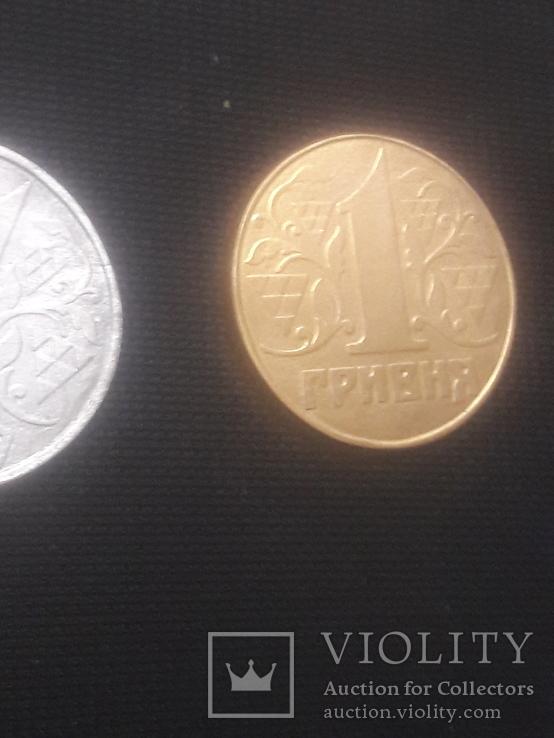 Фальшак из латуни 1 грн 1992, фото №2