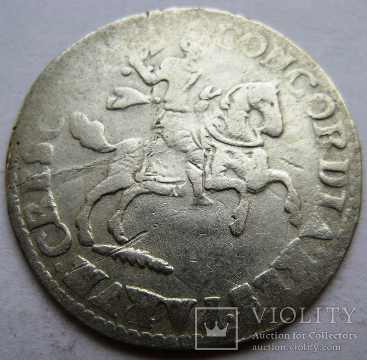 Нидерланды, DEVENTER, 1 райдершиллинг 1689, фото №2