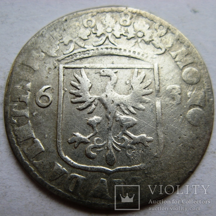 Нидерланды, DEVENTER, 1 райдершиллинг 1689, фото №3