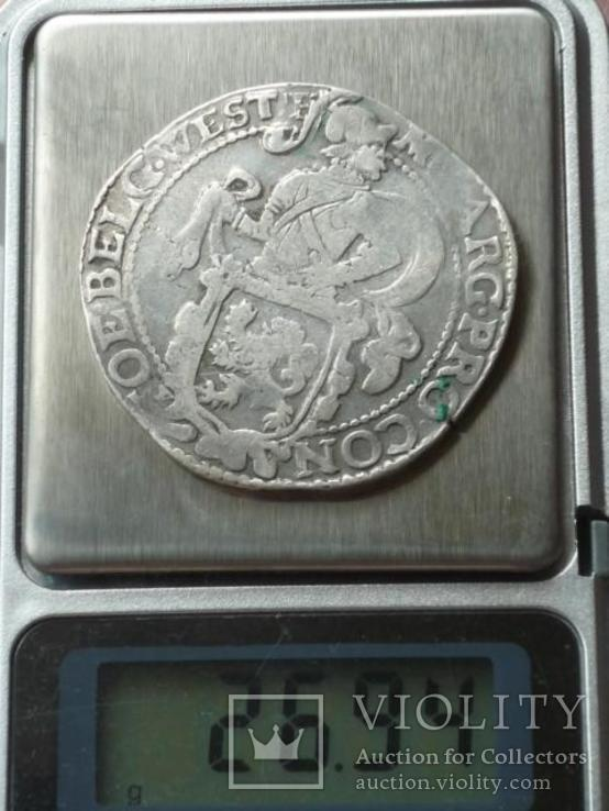 1 талер.1627г. Западная Фризия. Серебро.Оригинал., фото №8