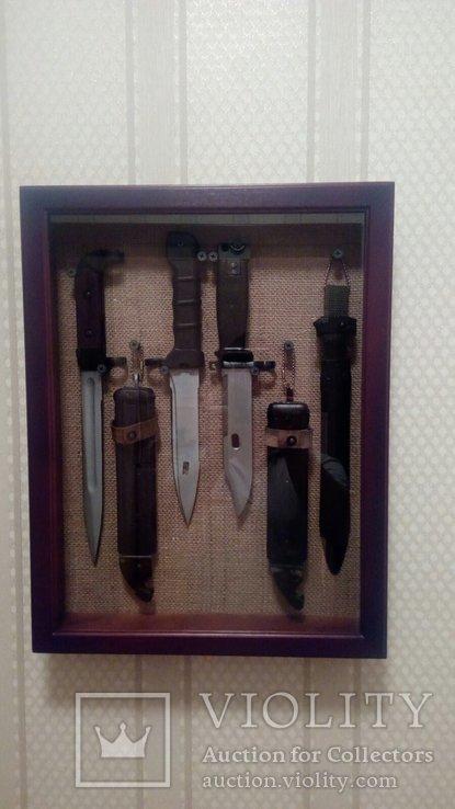 Витрина для штык ножей.кортиков.блях, фото №2