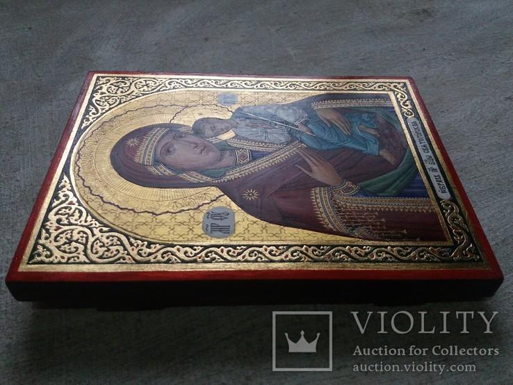 Икона Божией Матери «Святогорская» Богородица Святогорская.  Золотофонка., фото №6
