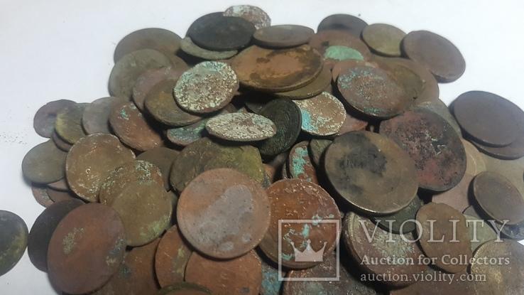 Монеты 143шт разных годов Царской Росси на опыты., фото №5