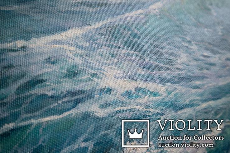 Море, будущее. 80х60 см. масло холст. Ю. Смаль, фото №7