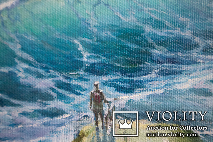 Море, будущее. 80х60 см. масло холст. Ю. Смаль, фото №8
