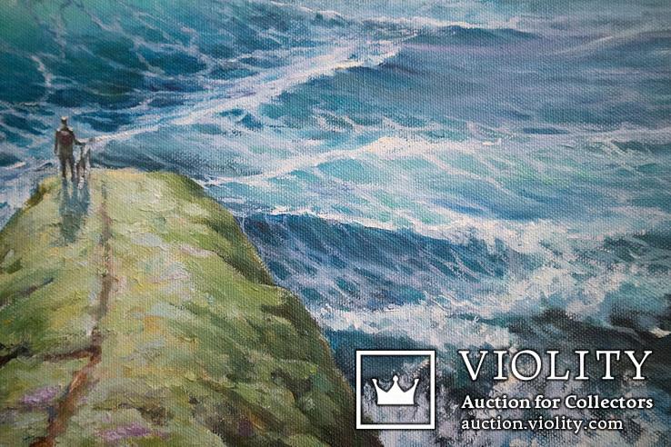 Море, будущее. 80х60 см. масло холст. Ю. Смаль, фото №11