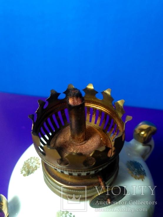 Миниатюрная керосиновая лампа. Клеймо Европа, фото №11
