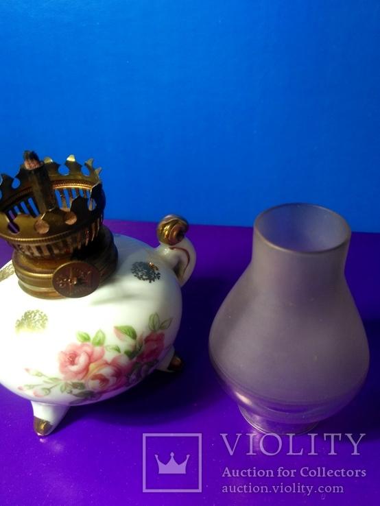 Миниатюрная керосиновая лампа. Клеймо Европа, фото №12