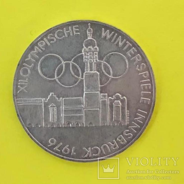 100 Шилінгів 1976р. Олімпіада. Срібло., фото №2
