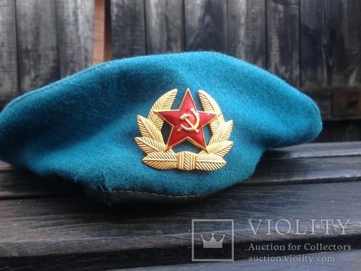 Берет ВДВ СССР оригинал 56 размер, фото №2