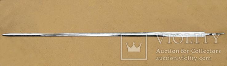 Клинок палаша, длина 97,7 см, без клейм, фото №4