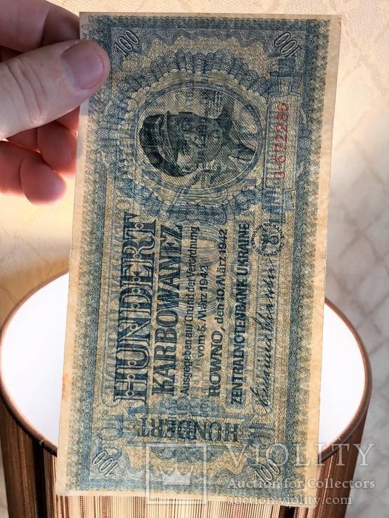 100 Карбованцев 1942 г, фото №4