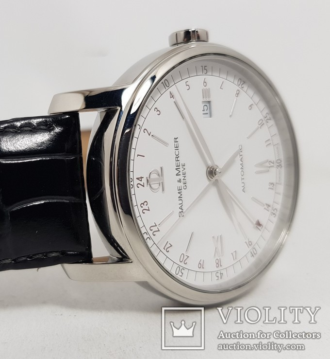 Baume & Mercier Classima GMT XL 42mm 65494 MOA08462, фото №5