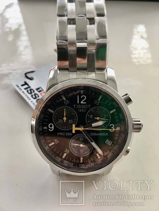 Мужские часы Tissot PRS 200 Chronograph (новые), фото №7