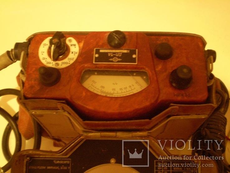 Счетчик Гейгера Прибор для измерения Радиация Военный, фото №2