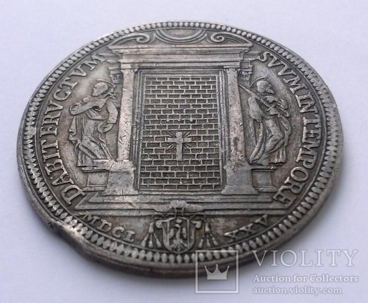 1 піастр 1675 Ватикан, Клеменс Х, фото №4