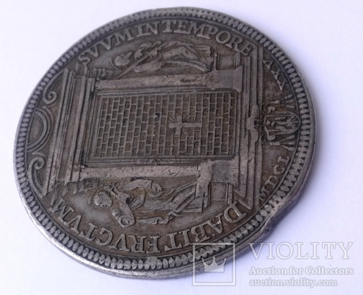 1 піастр 1675 Ватикан, Клеменс Х, фото №11