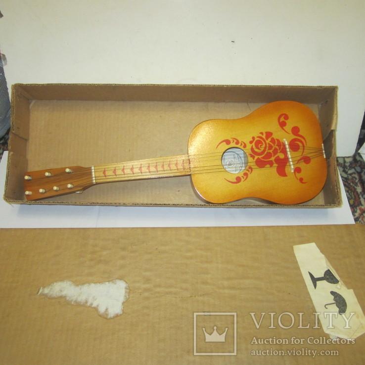 Детская гитара (Фабрика пианино Пенза) + коробка, фото №2