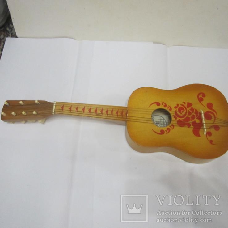 Детская гитара (Фабрика пианино Пенза) + коробка, фото №3