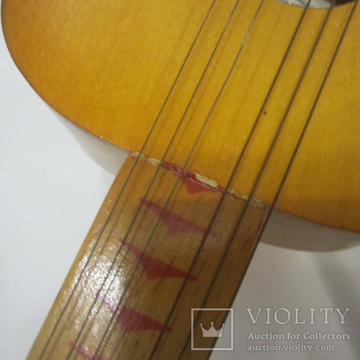 Детская гитара (Фабрика пианино Пенза) + коробка, фото №4