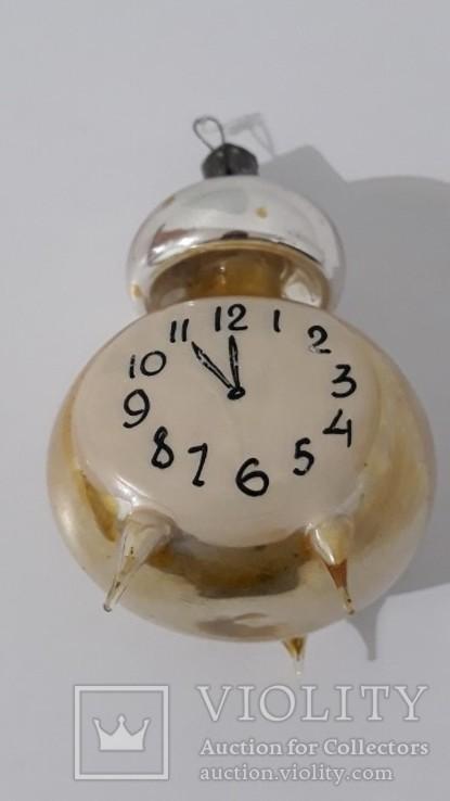 Елочная игрушка . Часы . Будильник ., фото №3