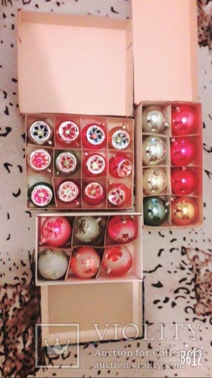 Подвесные елочные шары, фото №2