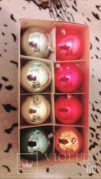 Подвесные елочные шары, фото №3