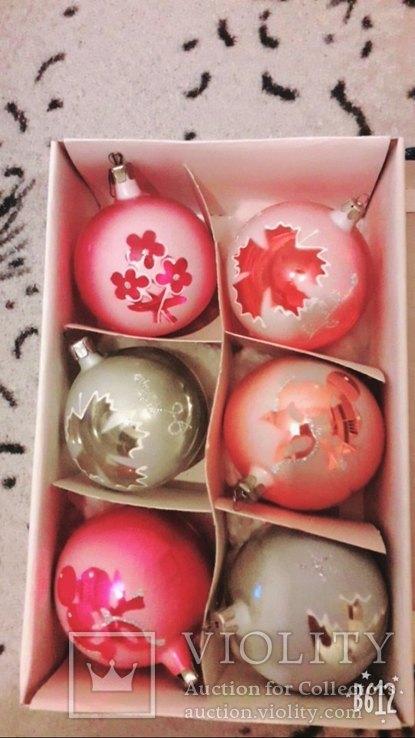 Подвесные елочные шары, фото №5