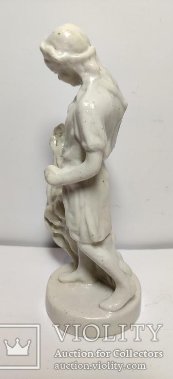 Пионерка собирает хлопок. Артель-Керамик 50-е года., фото №9