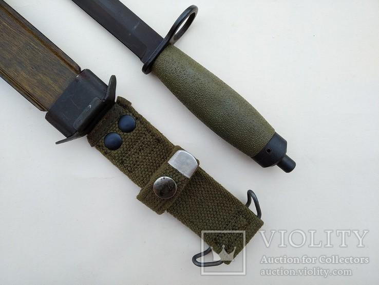 Штык-нож образца 1968 года к винтовке AG-3. Норвегия., фото №3