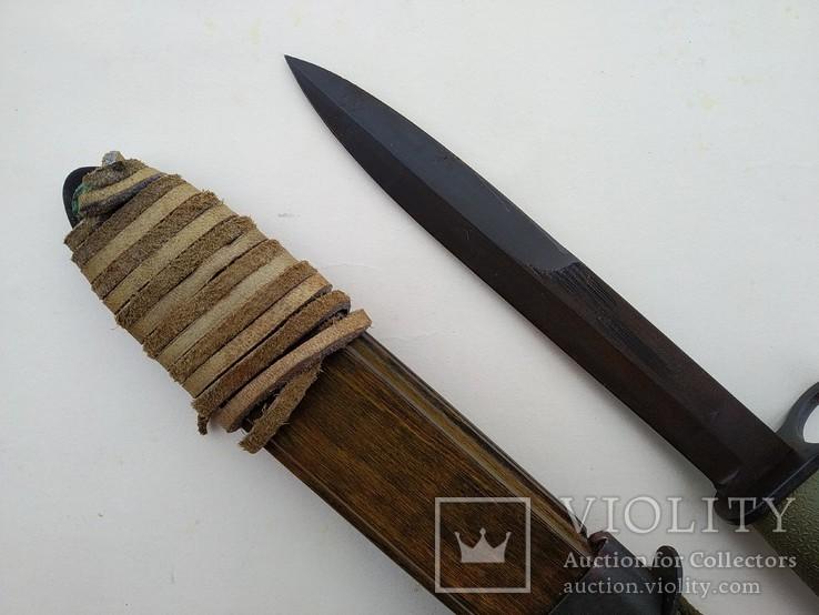 Штык-нож образца 1968 года к винтовке AG-3. Норвегия., фото №4