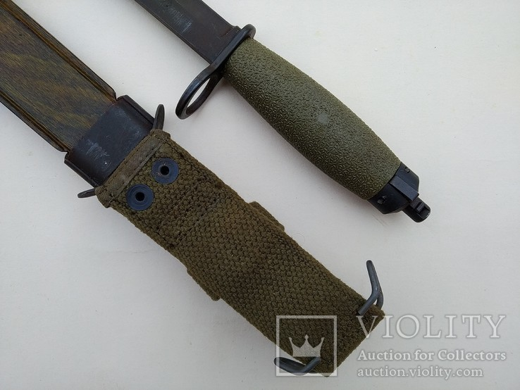 Штык-нож образца 1968 года к винтовке AG-3. Норвегия., фото №6