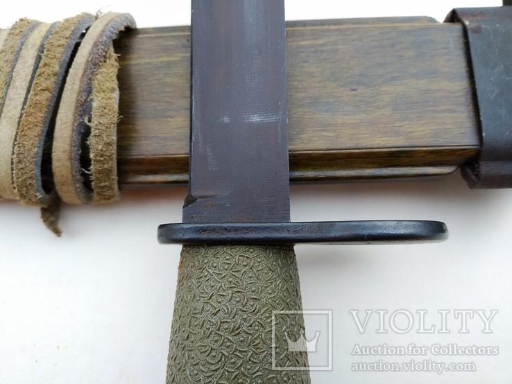 Штык-нож образца 1968 года к винтовке AG-3. Норвегия., фото №9