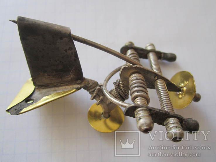Фібула з золото накладкою., фото №12