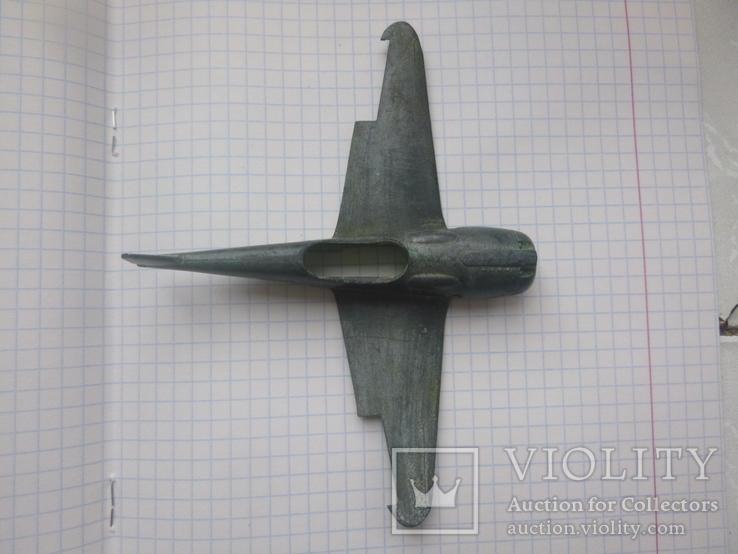 Самолёт с утратами,копаный, фото №2