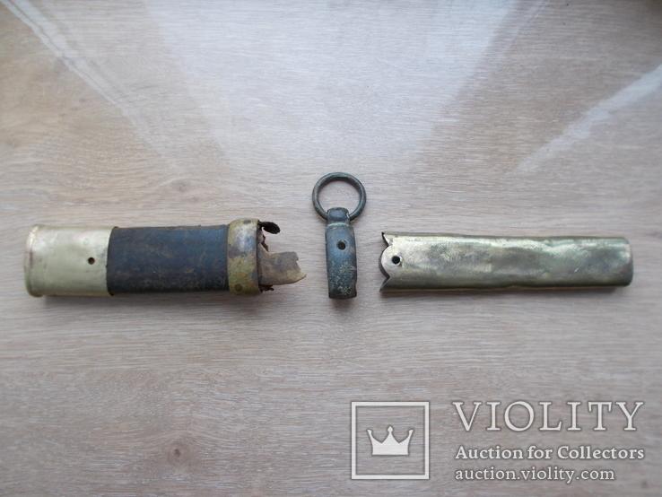 Сабля РИА (обр. 1841 г ) комплект на ножны, фото №6
