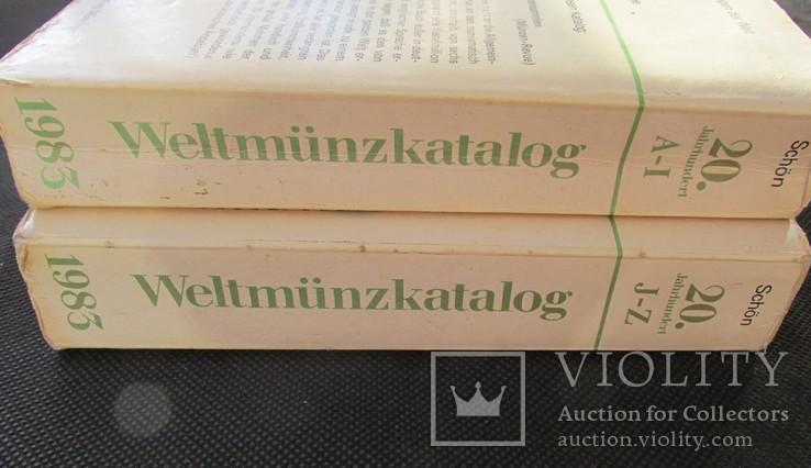 Weltmünzkatalog 1983, 2 томи, фото №3