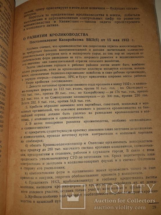 1932 Книжка о кролике, фото №6