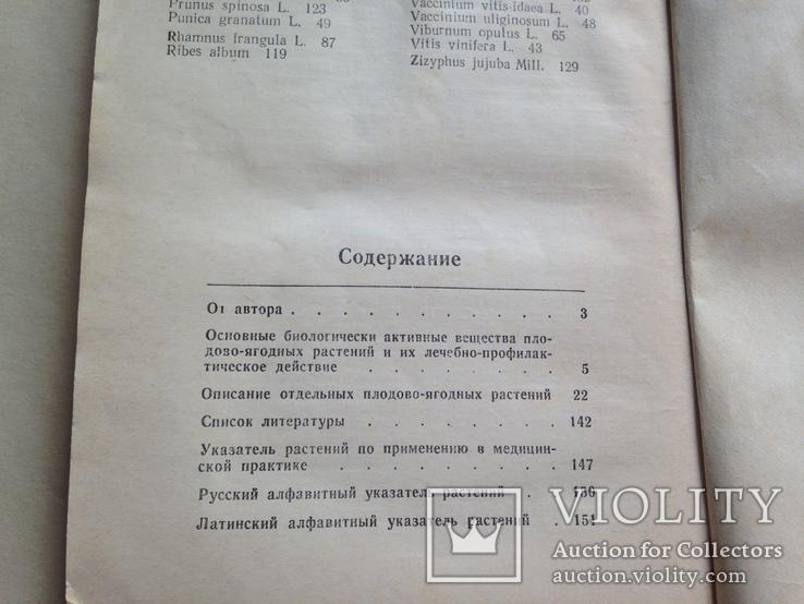 Применение плодово-ягодных растений в медицине 1988 152 с., фото №12