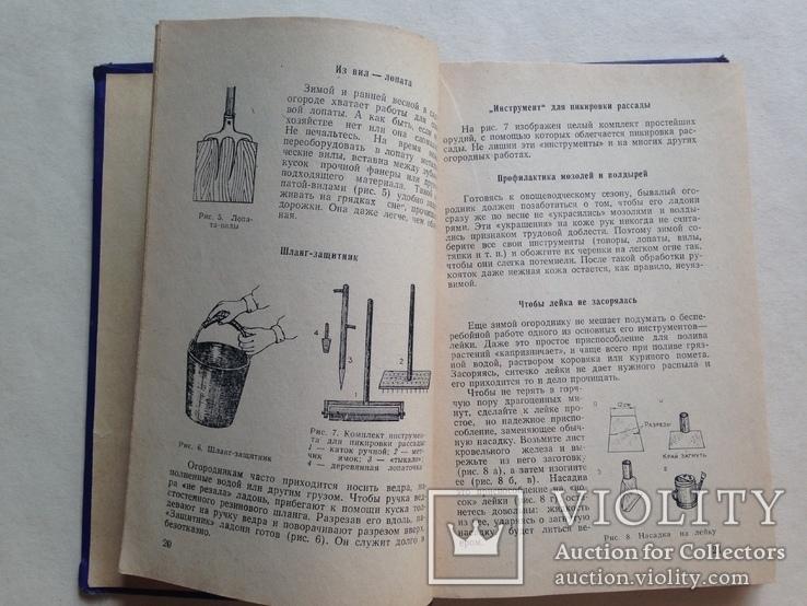 Советы огородникам 1973 200 с.ил., фото №5