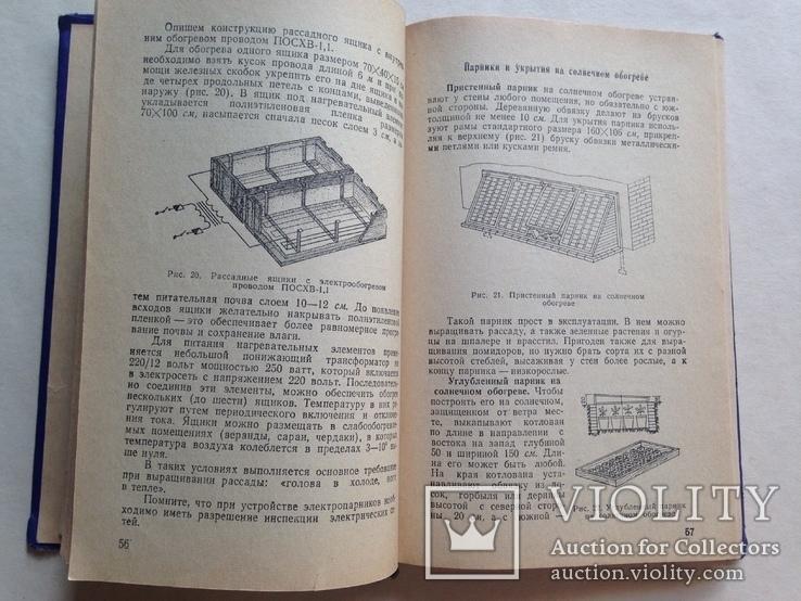 Советы огородникам 1973 200 с.ил., фото №6
