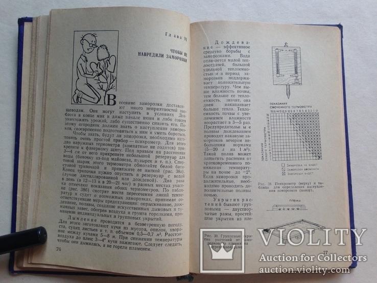 Советы огородникам 1973 200 с.ил., фото №7