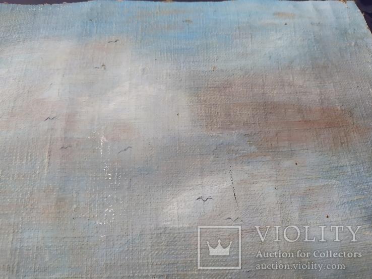 Срезанный холст с рамы, размер 35 х 45см., фото №10
