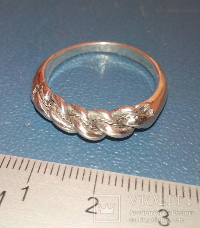 Реплика-копия Витой перстень КР -Балтия-Скандинавия, фото №2