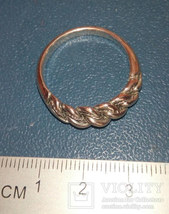 Реплика-копия Витой перстень КР -Балтия-Скандинавия, фото №4