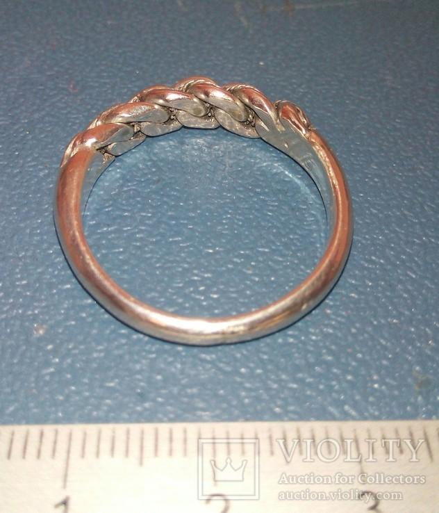 Реплика-копия Витой перстень КР -Балтия-Скандинавия, фото №6