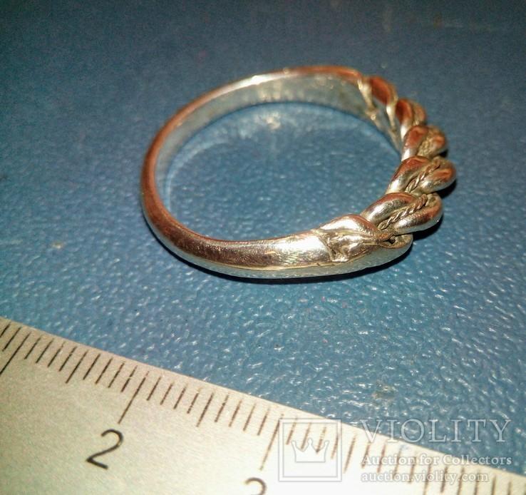 Реплика-копия Витой перстень КР -Балтия-Скандинавия, фото №7
